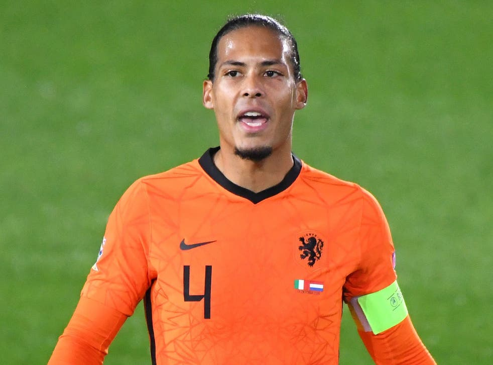 <p>The Dutch captain has missed much of the campaign with a knee injury</p>