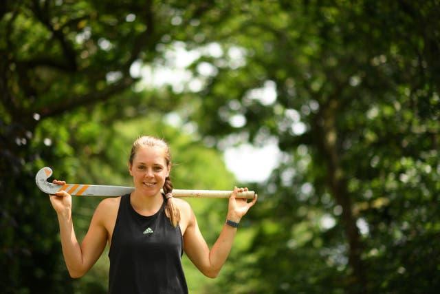 British Olympic hockey player Giselle Ansley
