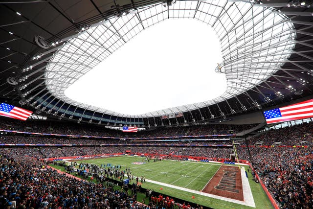 Tottenham Hotspur Stadium hosted Carolina Panthers andTampa Bay Buccaneers in 2019