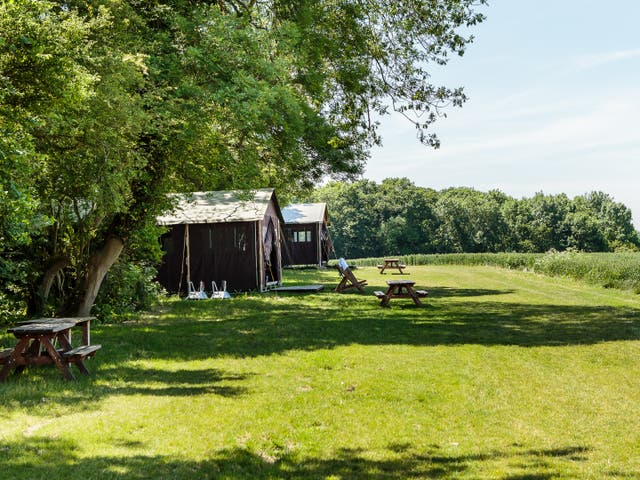 <p>Feather Down takes glamping to another level</p>