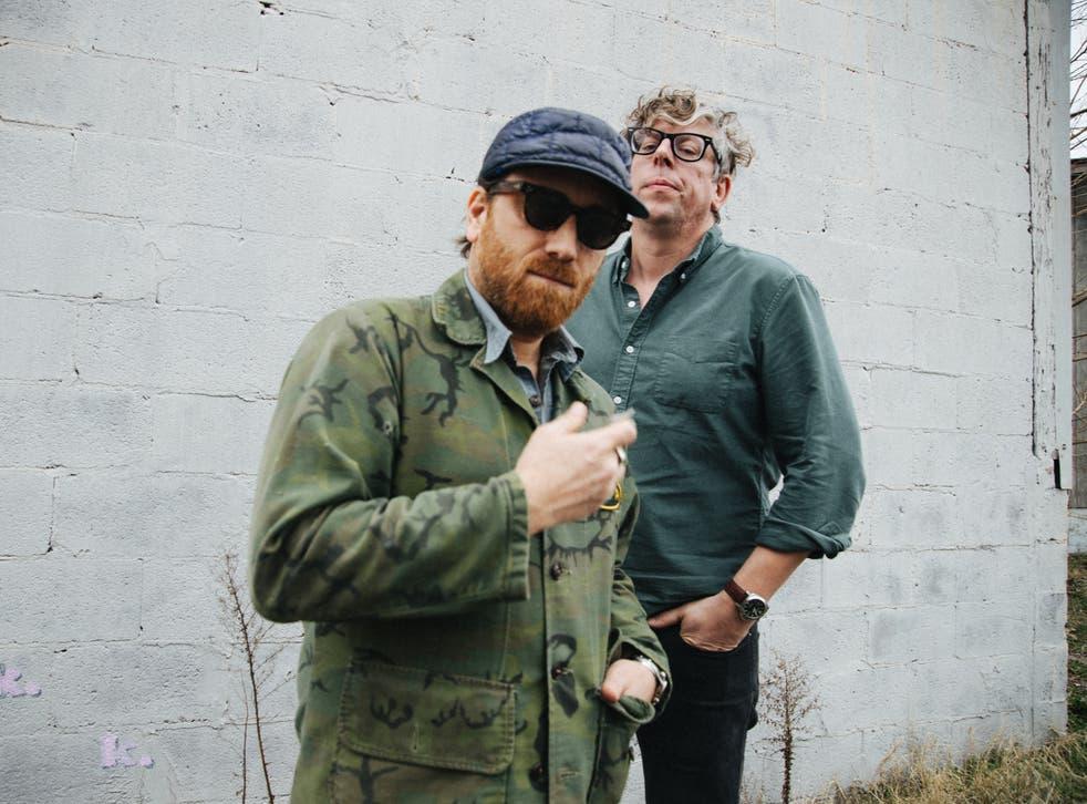 <p>The Black Keys: Dan Auerbach (left) and Patrick Carney</p>