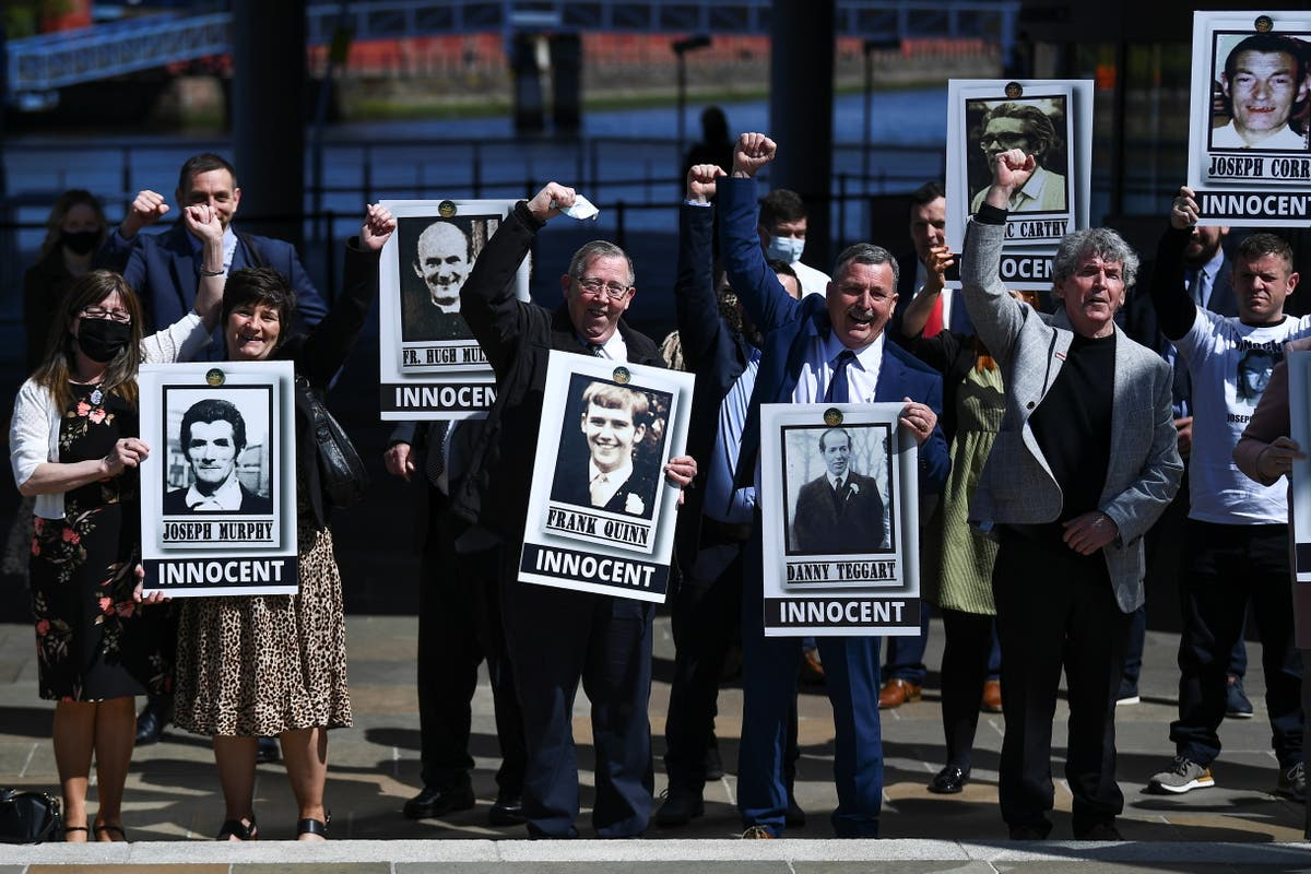 "Boris Johnson issues apology for 1971 Ballymurphy Army killings of 10 ""entirely innocent"" people"