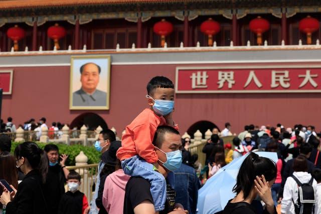 CHINA POBLACION