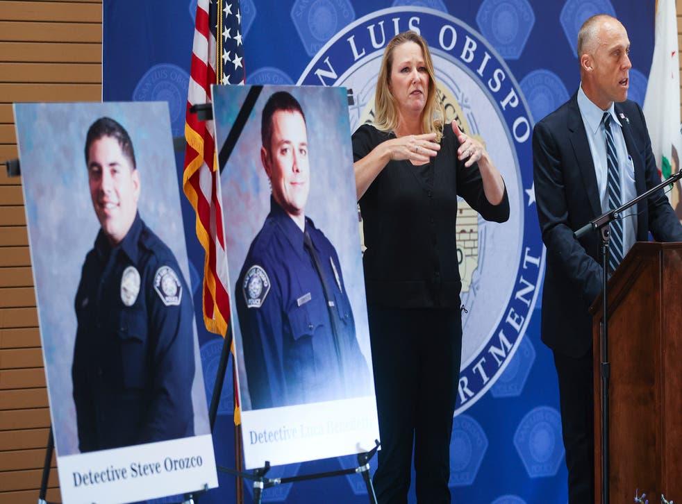 Officers Shot-California