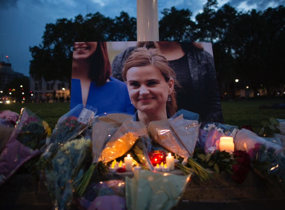 Jo Cox, Labour MP for Batley and Seen, was shot and stabbed at her constituency in Birstall, England, in 2016