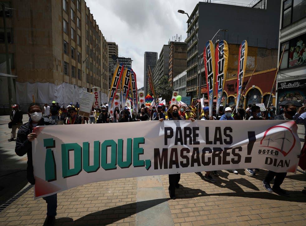 COLOMBIA-PROTESTA