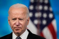Joe Biden chokes up when asked how son Beau would judge first 100 days of presidency: 'He should be sitting in this chair'