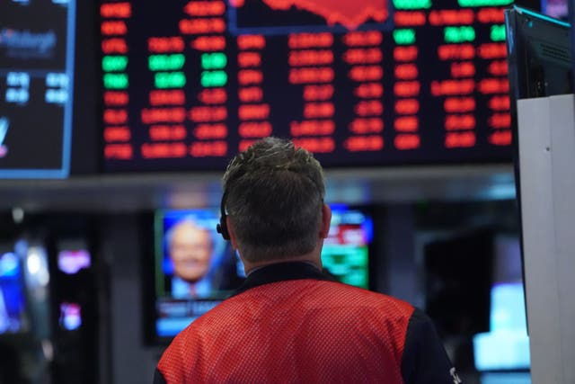 <p>US stocks suffered the biggest slump in at least 11 weeks on Wednesday after inflation data </p>