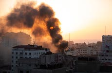 Weary Gaza marks Muslim feast as violence spreads in Israel