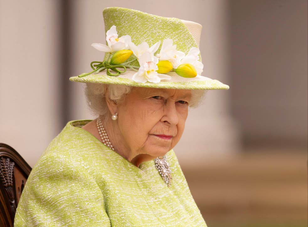 The Queen in March 2021