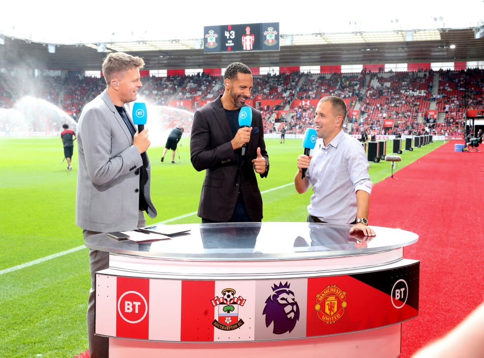 BT Sport presenting Southampton vs Manchester United in August