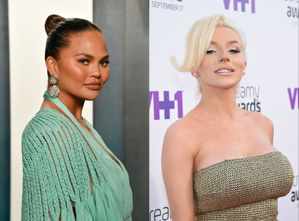 <p>Chrissy Teigen has faced a fierce online backlash over her resurfaced messages to Courtney Stodden</p>