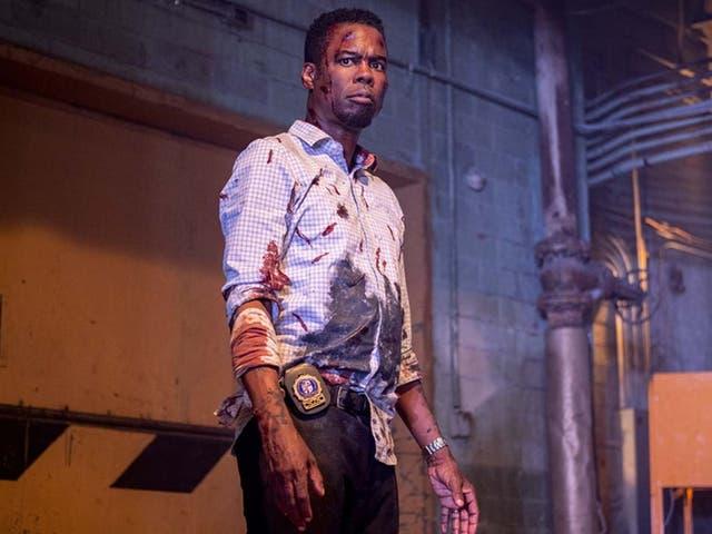 <p>Rock plays renegade cop Detective Ezekiel 'Zeke' Banks</p>