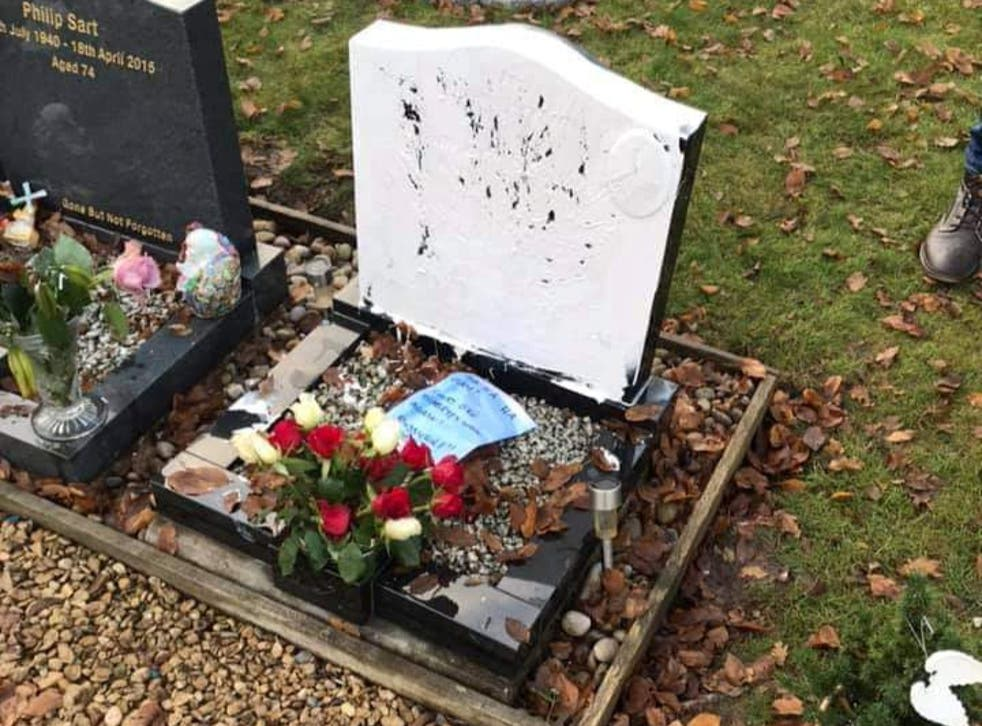 A woman has been jailed after vandalising the grave of a young diabetic man and leaving cruel notes to family members
