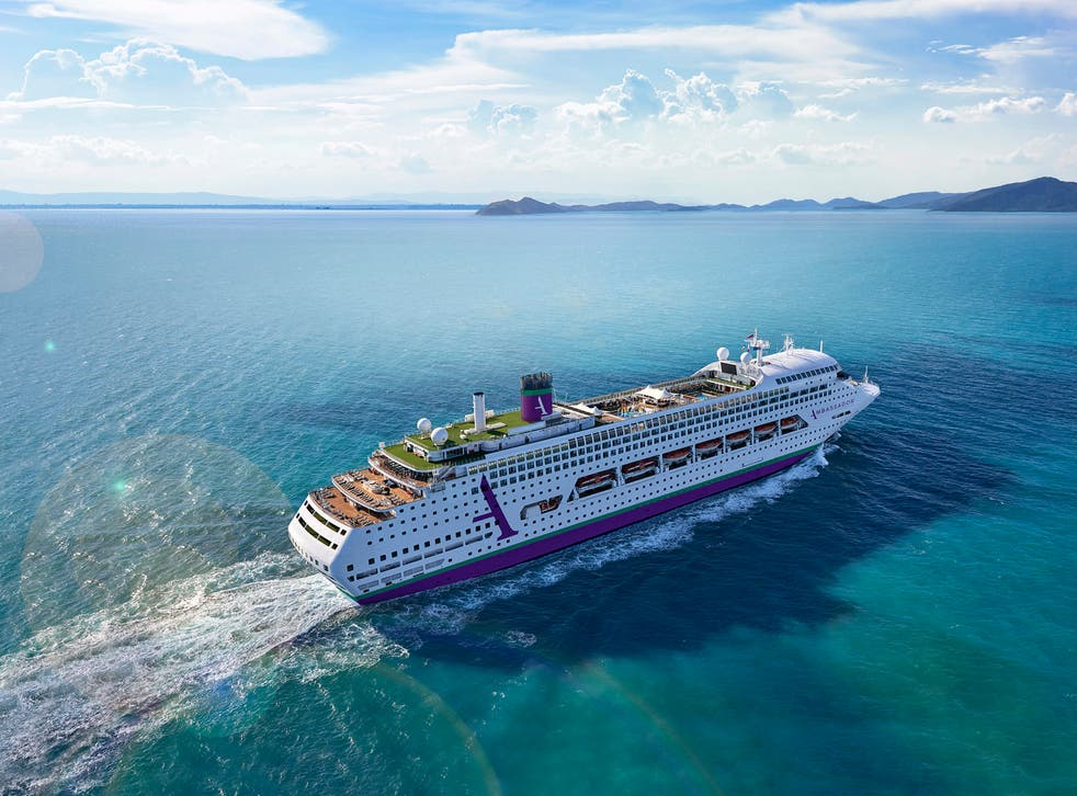 Ambience is Ambassador Cruise Line's first ship