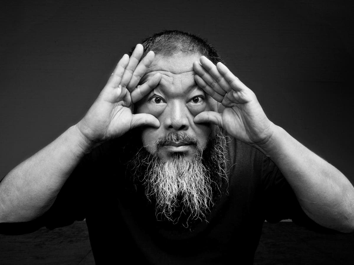 Image Ai Weiwei: 'Lego is no different from Rembrandt or Van Gogh's paint'