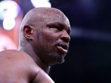 'He is a coward': Dillian Whyte starts war of words with Tyson Fury