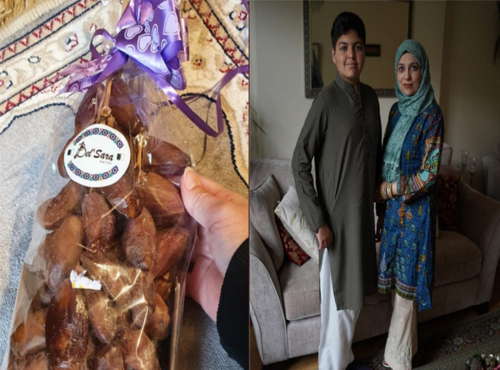 Neighbour surprised by gifts in celebration of Eid