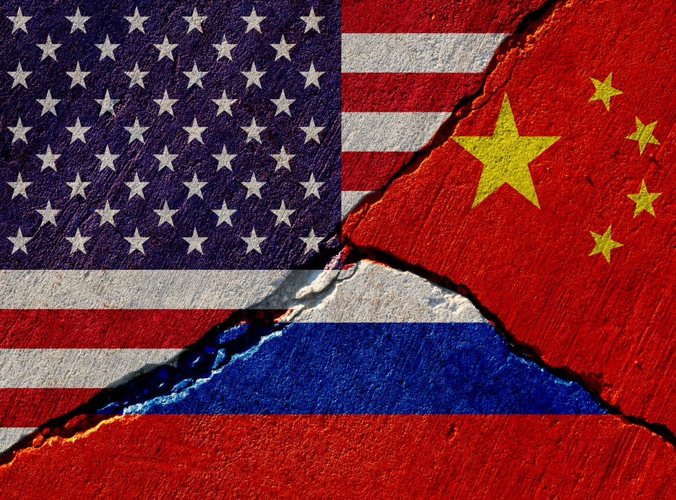 <p>All three superpowers – the United States, Russia, and China – allocate more and more money to military purposes</p>