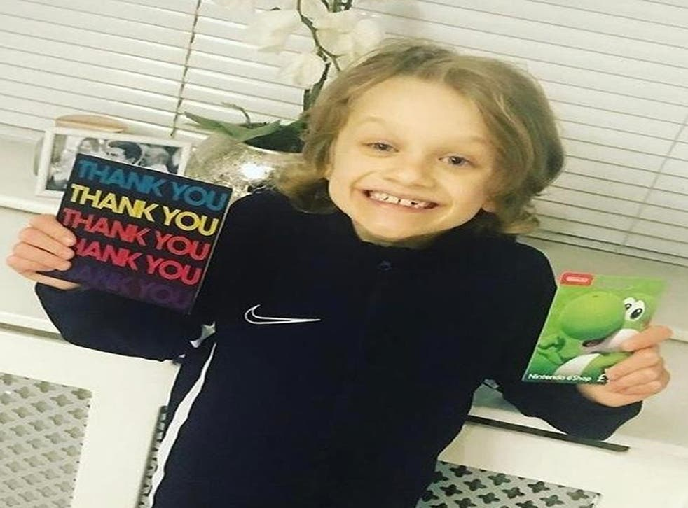 Jordan Banks, who died after being struck by lightning on Tuesday, left sweets on police cars to cheer up officers during lockdown