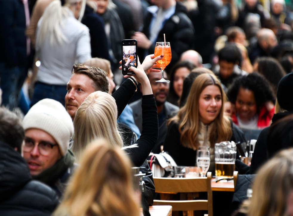 <p>Lockdown easing is set for Monday when pubs and restaurants will be allowed to serve people indoors</p>