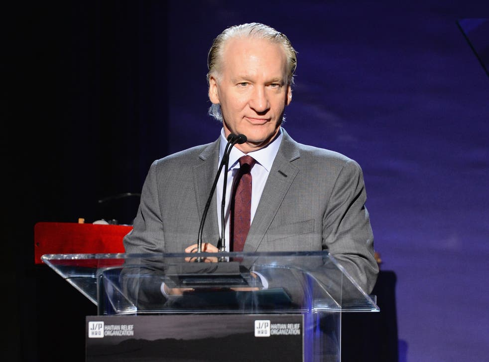 Maher in 2017