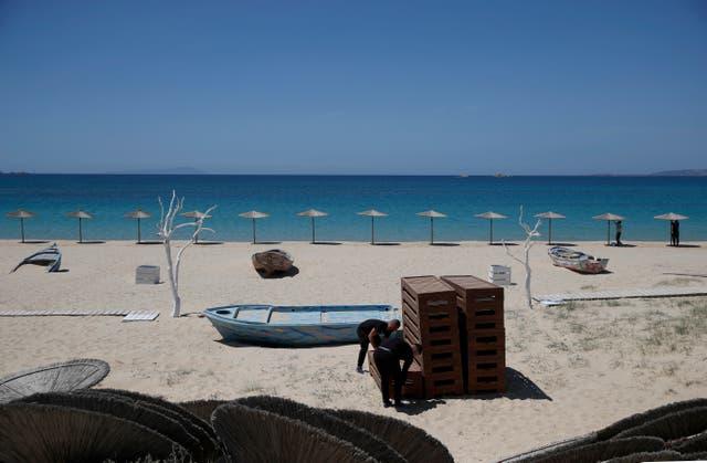 Virus Outbreak Southern Europe Tourism