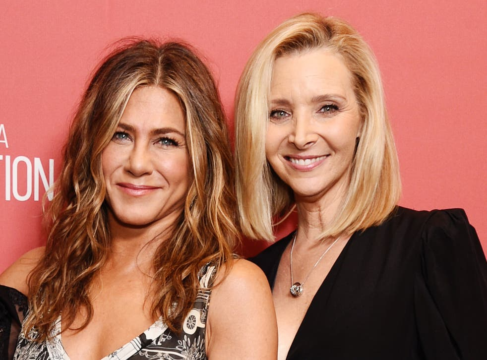 <p>(Left) Jennifer Aniston, (Right) Lisa Kudrow.</p>