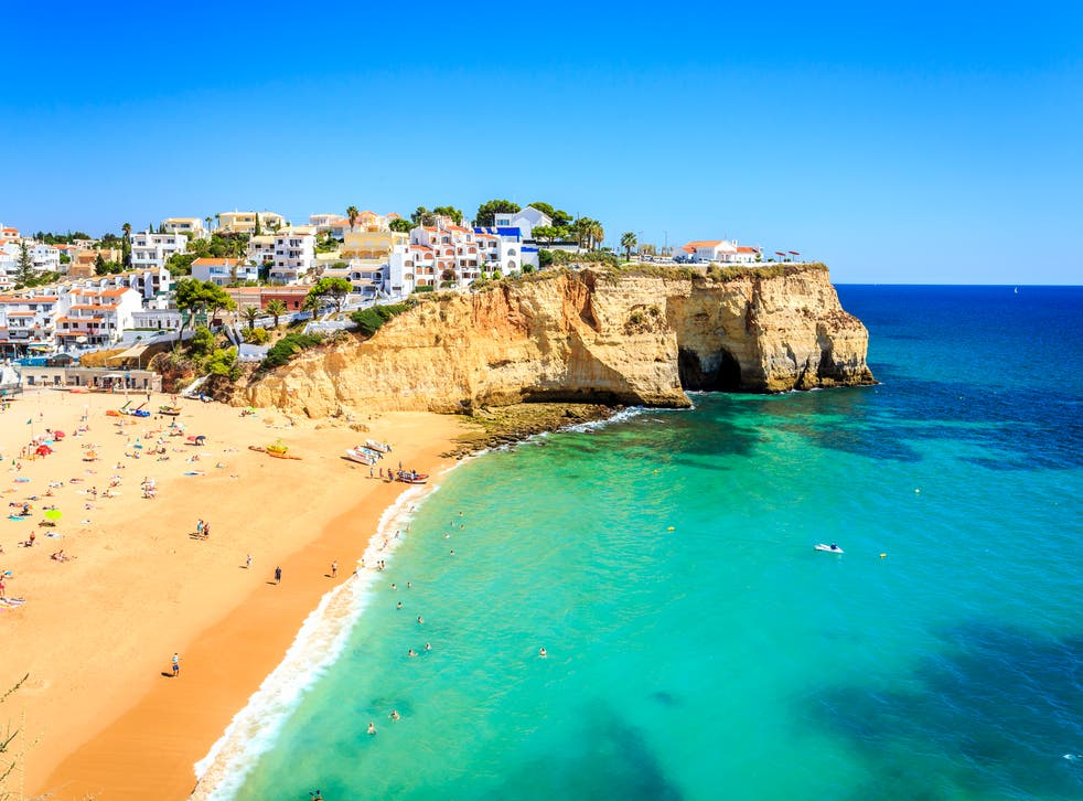 <p>Many Britons are booking holidays to the Algarve and other regions of Portugal</p>