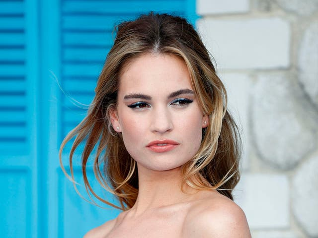 Lily James will star as Pamela Anderson in a new biopic