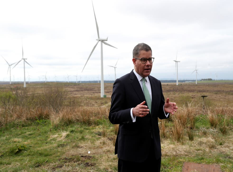 <p>Alok Sharma, the UK's president elect of Cop26</p>