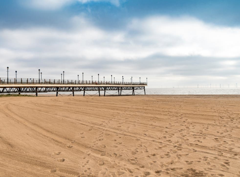 <p>Clean sweep: Skegness in Lincolnshire is just one of England's 77 Blue Flag beaches</p>