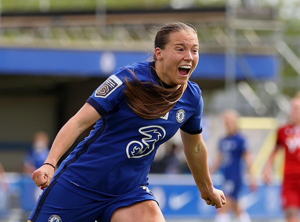 Chelsea and England forward Fran Kirby