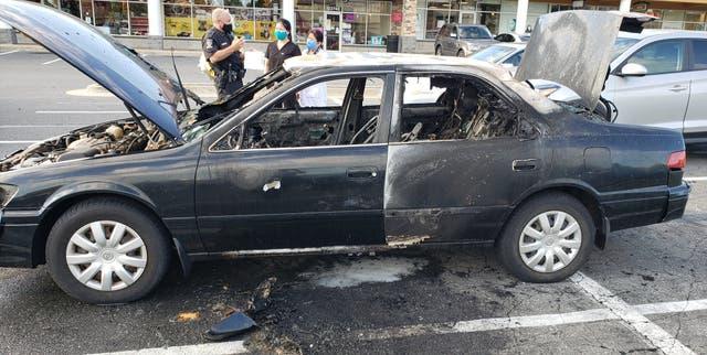 <p>El dramático incidente tuvo lugar en el Federal Plaza Shopping Center en Rockville, en las afueras de Washington DC</p>