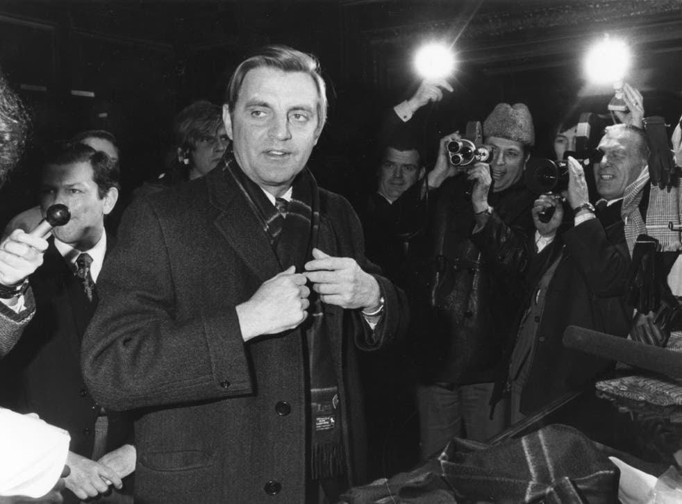 Walter Mondale pictured in January 1977. Jimmy Carter had selected him as his running mate ahed of winning the White House the previous year