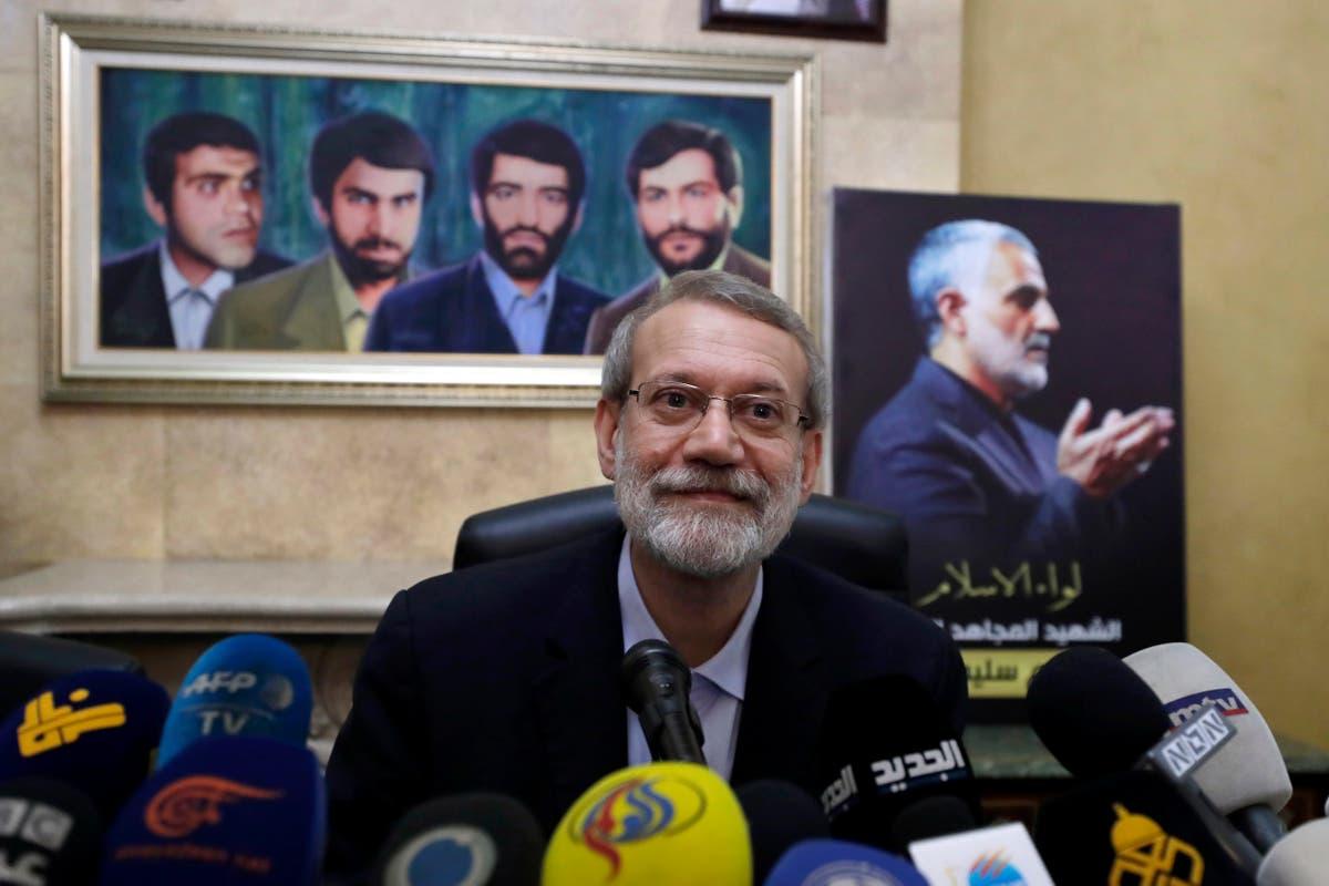 Image Ex-Iran parliament speaker registers to run for president
