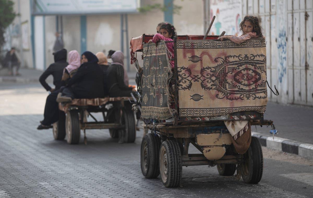 Israeli strike on Gaza kills 7, unrest spreads to West Bank Syria Palestinians Islamic Jihad Washington West Bank