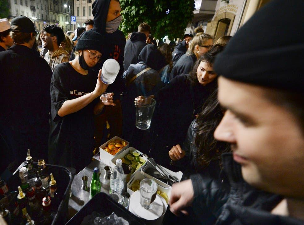 Virus Outbreak Poland Easing Restrictions