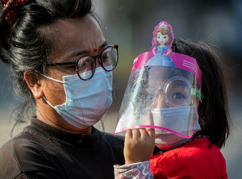 APTOPIX Virus Outbreak Nepal