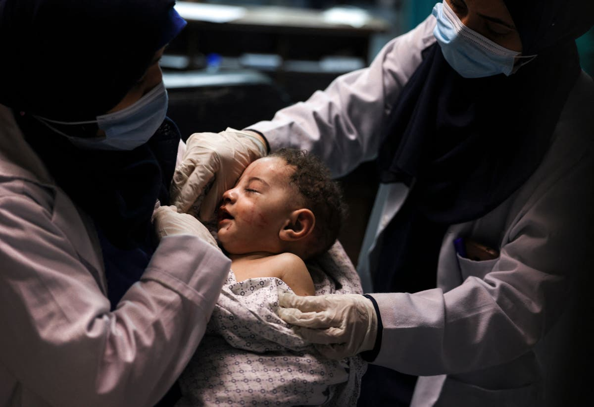 'I lost my entire family, in an instant': Miracle baby is sole survivor of Israeli airstrike that kills 10