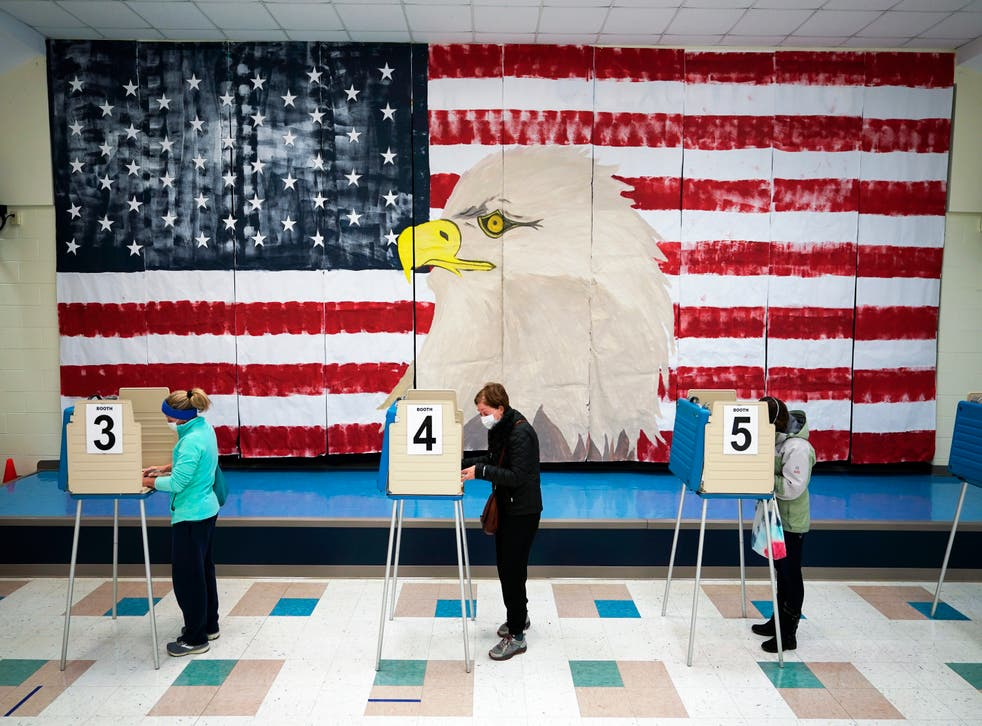Voting Blue States