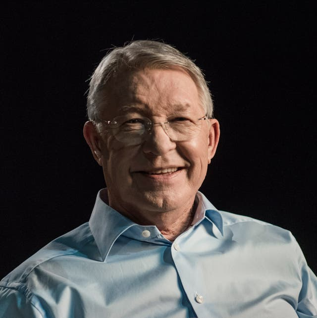 Sir Alex Ferguson is the subject of a new film Never Give In
