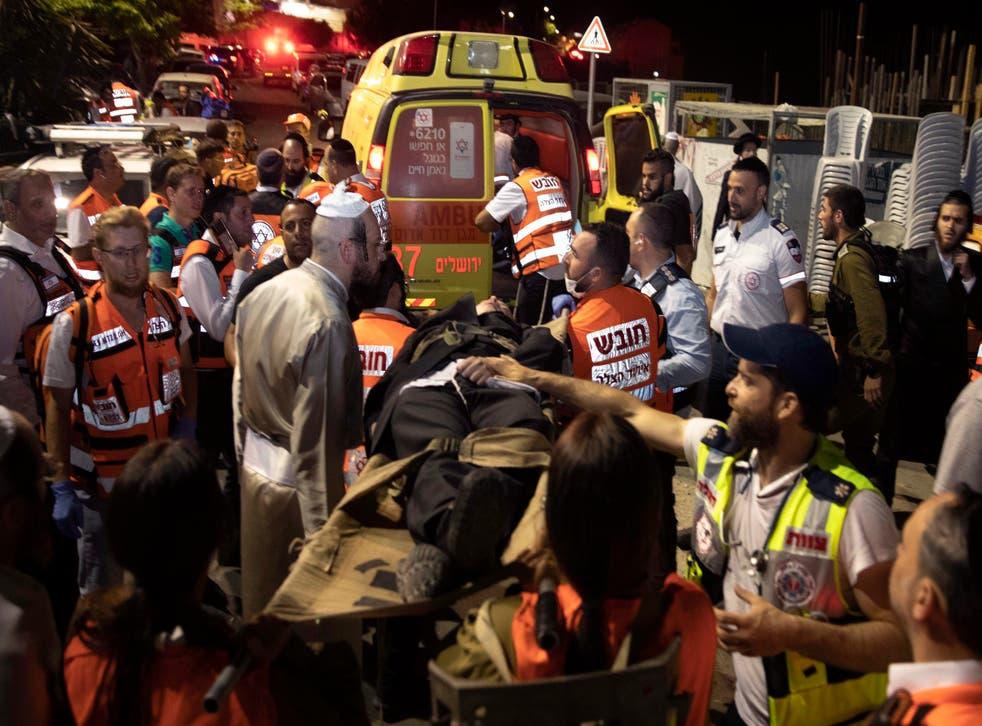 Cisjordania: 2 muertos al desplomarse gradas en sinagoga | Independent  Español