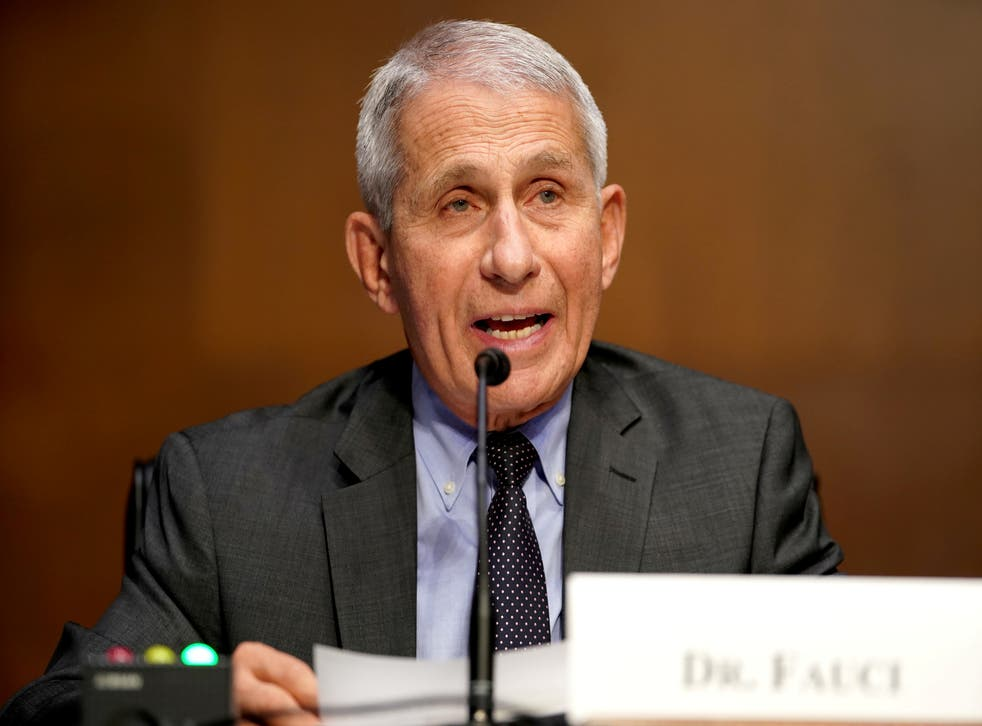 <p>Dr Anthony Fauci, director of the National Institute of Allergy and Infectious Diseases, said racism has led to unacceptable health disparities amid pandemic</p>