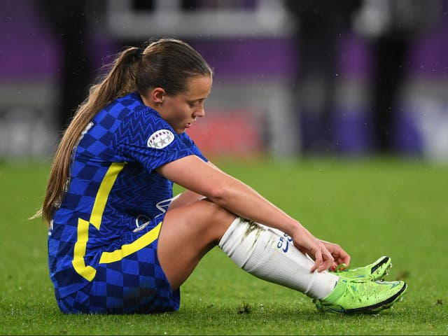 Chelsea forward Fran Kirby