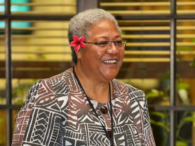 <p>Fiame Naomi Mata'afa previously served as deputy to the current prime minister </p>