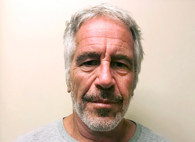 <p>It is alleged the guards shopped online for furniture and motorcycles 15 feet from Epstein's cell, rather than doing rounds every 30 minutes as required</p>