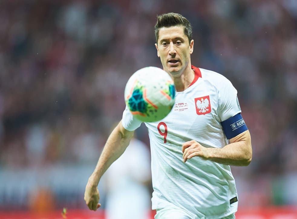 Robert Lewandowski will be Poland's talisman in the Euros