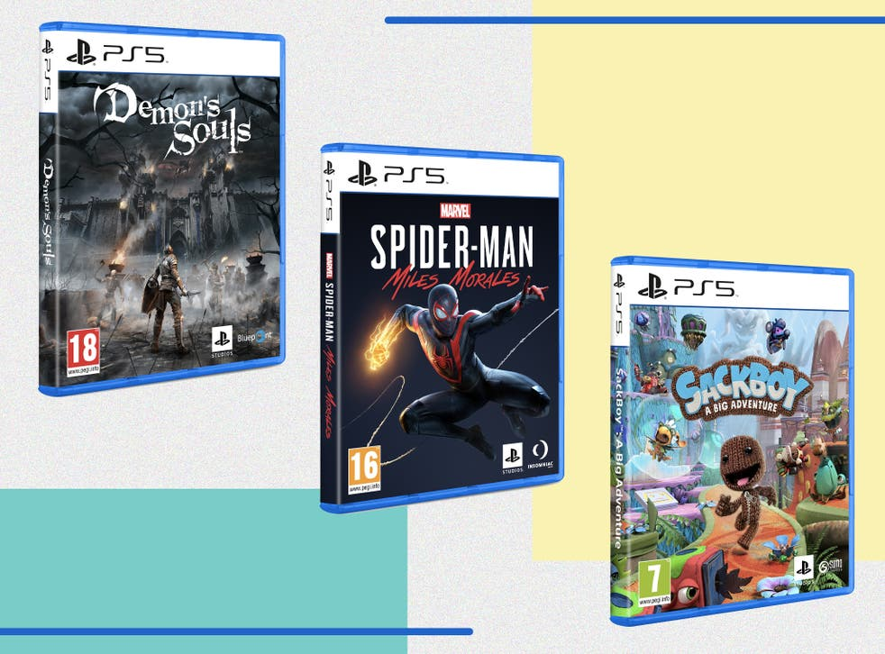<p>The PS5's library of games is small but growing quickly</p>
