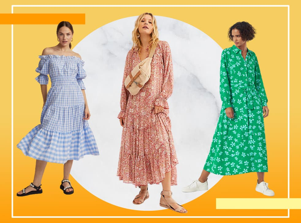 <p>2021 is clearly the year of the smock dress (unsurprisingly as it's basically the dress version of the tracksuit in comfort terms</p>
